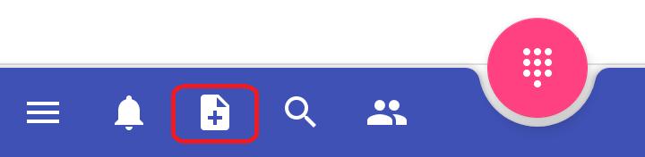 MessengerCTI.mobile 1.07 Pasek zadań - schowek.png