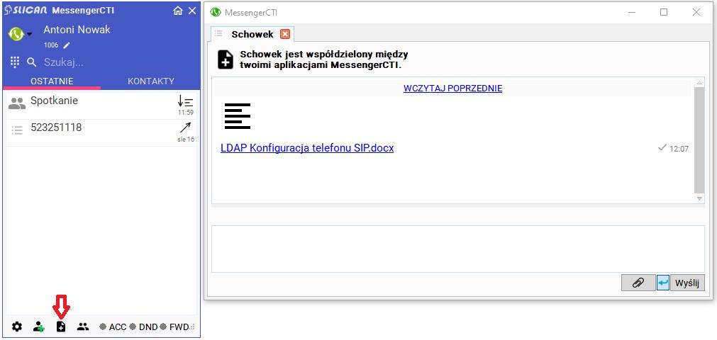MessengerCTI Schowek1.07.PNG