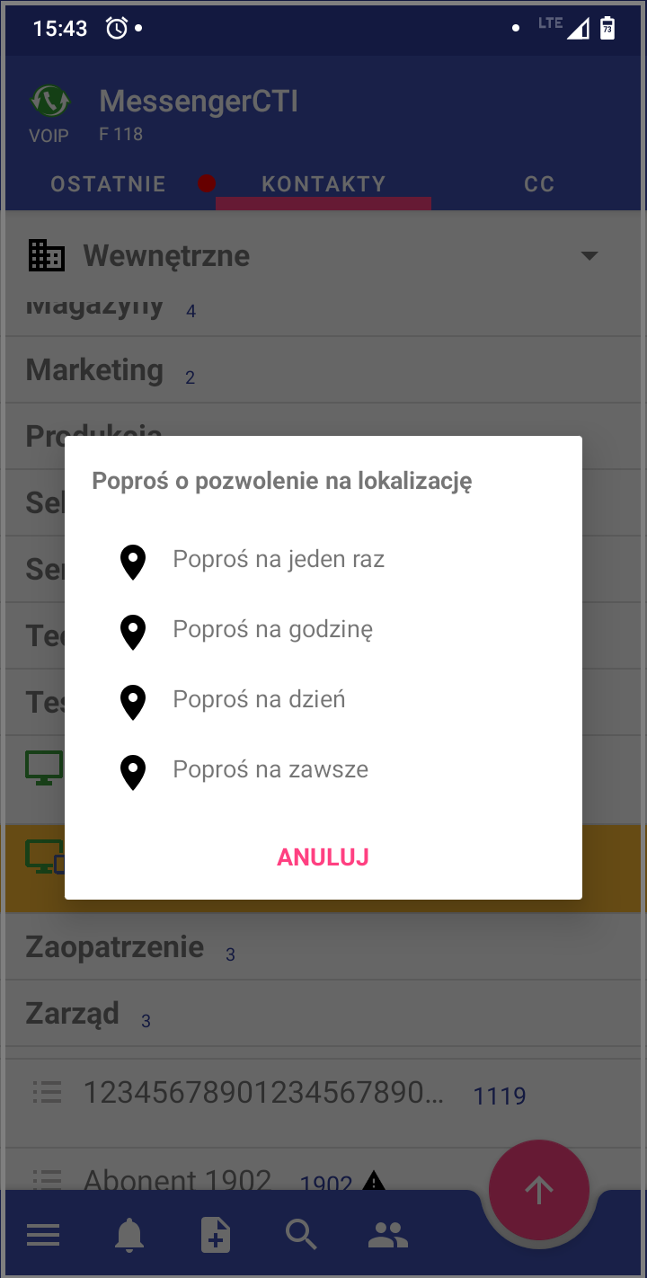 MessengerCTI.mobile 1.07 Lokalizacja.png