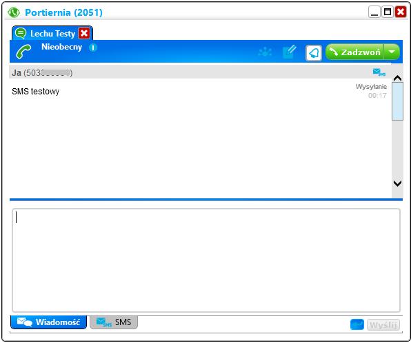 PhoneCTIvoip Wiadomość SMS.PNG
